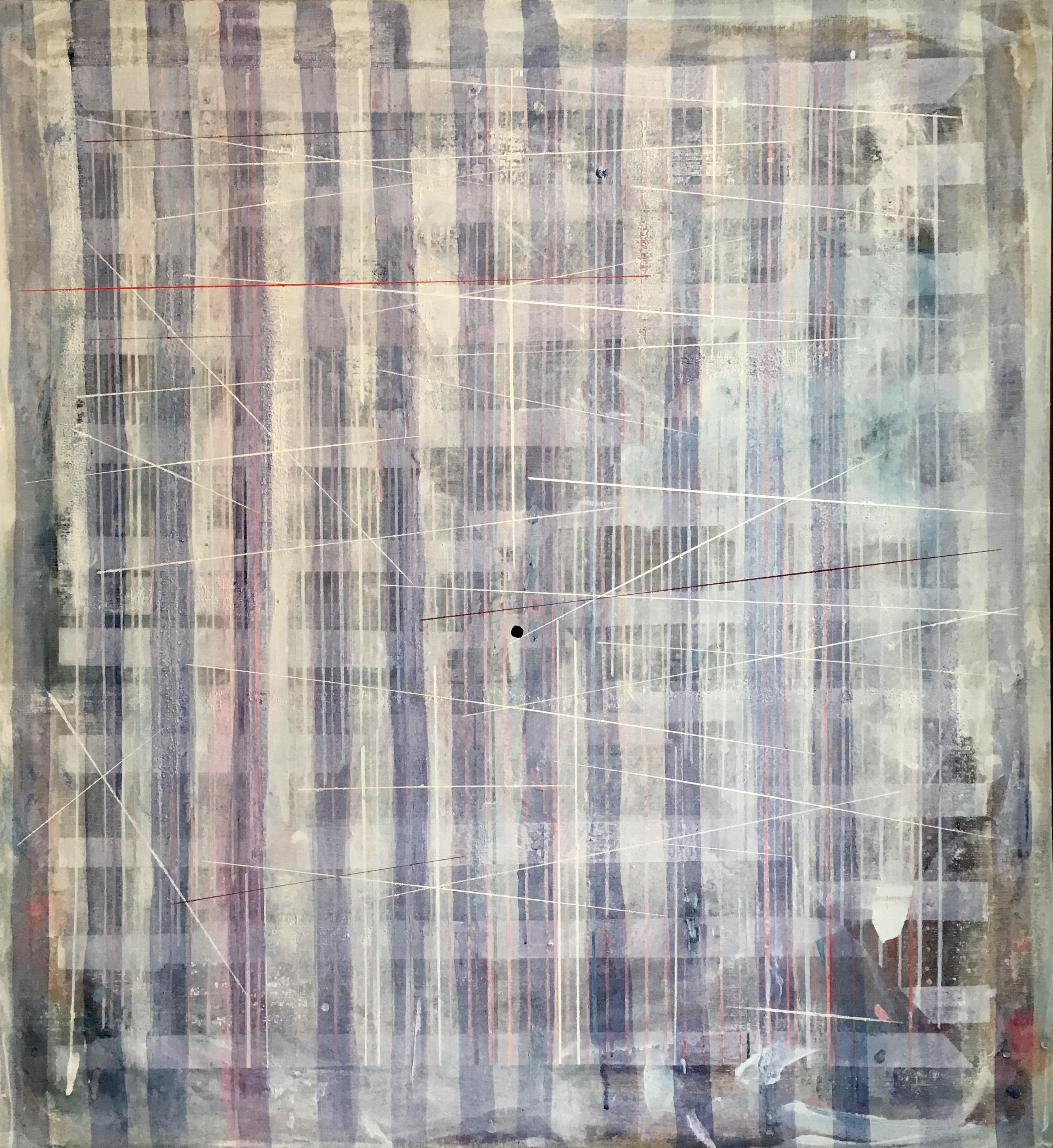 Lines l 130 x 120 cm
