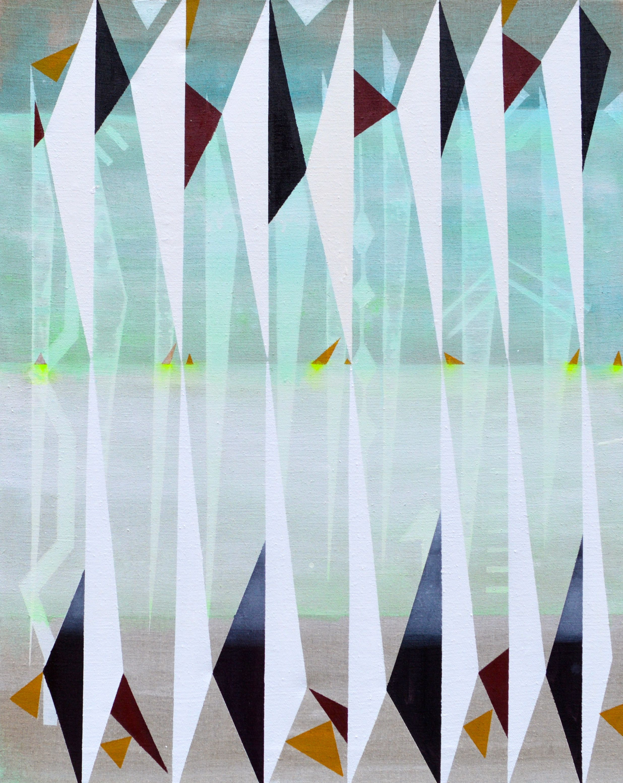 Mirror Repeats 80 x 100 cm