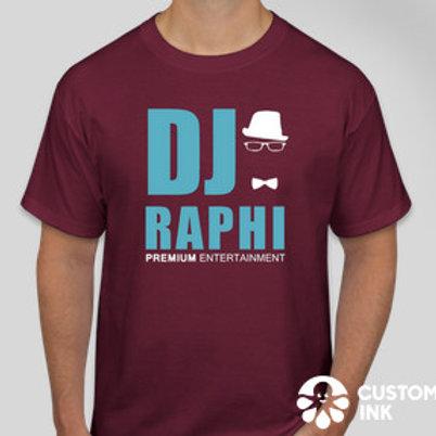 DJ Raphi Maroon T-shirt