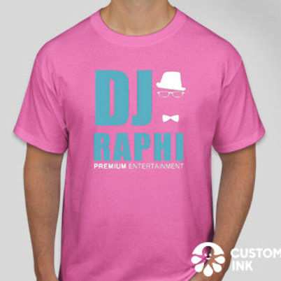 DJ Raphi Pink T-shirt