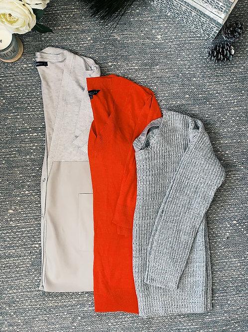 3 Sweater Bundle - SIZE L