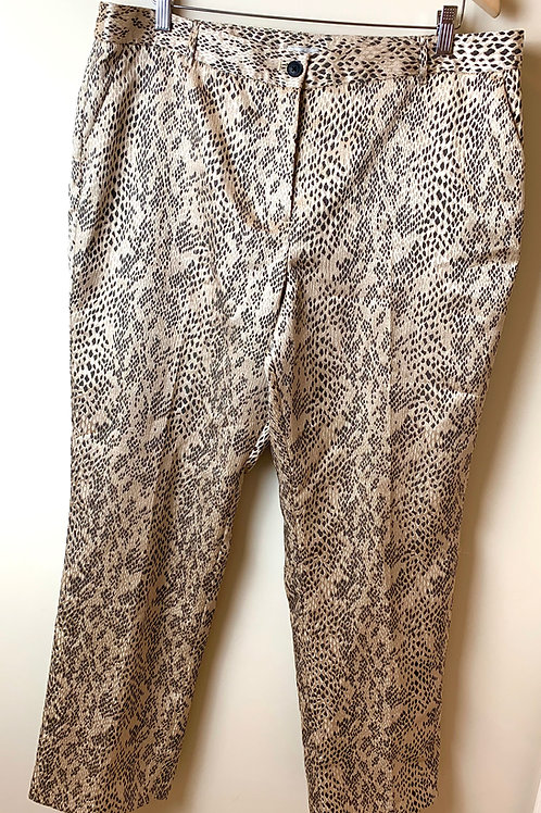 Gold and black trousers - SIZE 18