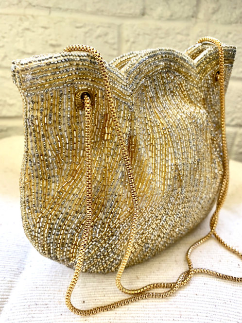 1950s Vintage Walborg Beaded Evening Bag -PRICE UPON REQUEST