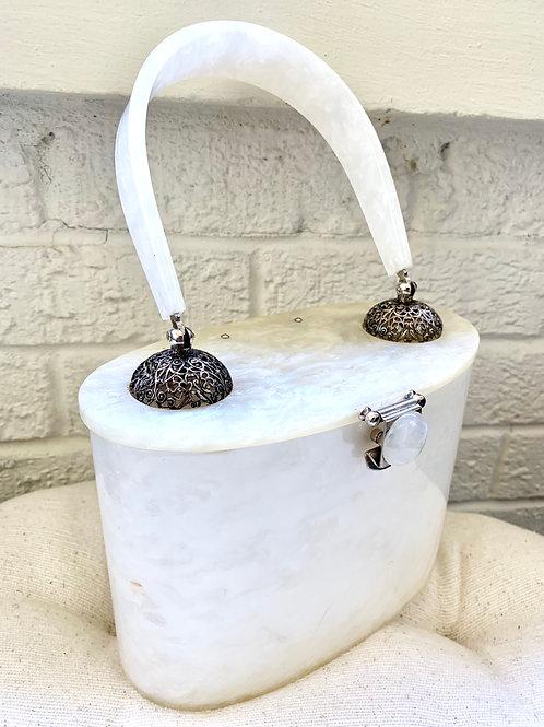 1950s Vintage Lucite Handbag