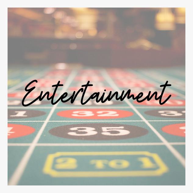 Wedding Directory Casino Entertainment