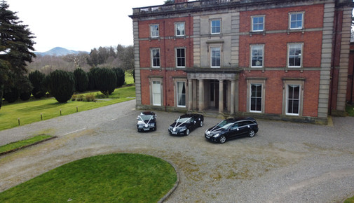 A gorgeous line up at Netley Hall!