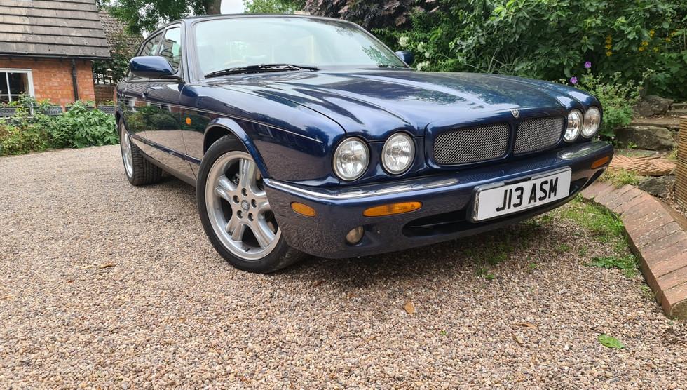 The Royal Blue Jaguar!