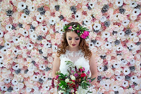 Luxury Flower Wall Hire Flowers