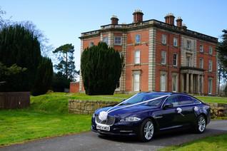 The Jag at Netley Hall!