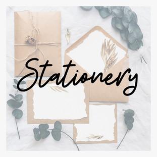 Wedding Directory Stationary Stationery