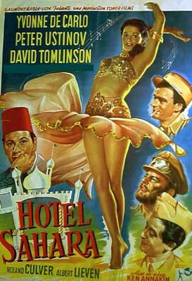 Hotel Sahara en 1951