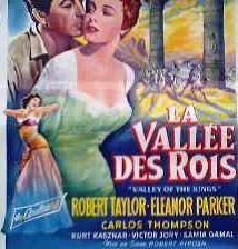 La vallée des rois en 1954