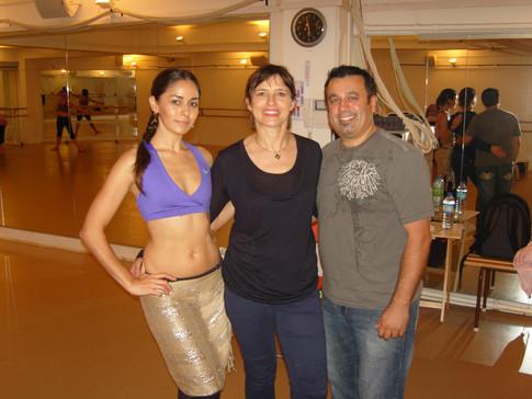 Stage avec Sonia et Issam Houshan des Bellydance Superstars