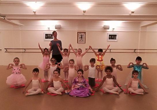 Cours d'éveil à la danse 5 ans