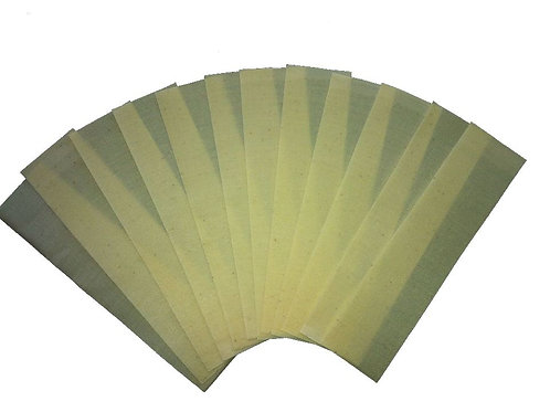 300 feuilles pour bougie d'oreille /sheets for ear candle /blatter fur ohrkerzen