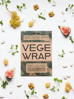 New in 2021, the Vege wrap with vegetable wax