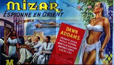 Mizar espionne en Orient en 1953