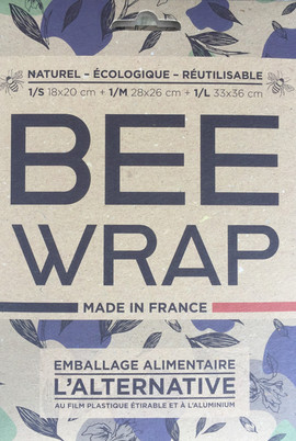 Emballage bee wrap recto