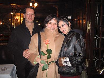 François, Amana et Rachel Brice