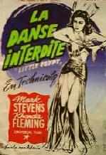 """La Danse Interdite """"Little Egypt"""" en 1951"""