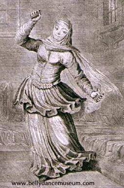 Danseuse orientale - J.B. VANMOUR