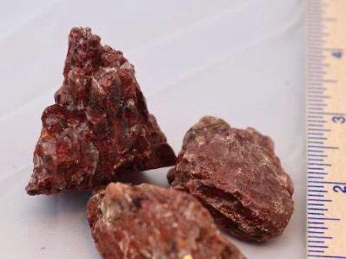 Calcite (Red): Rough