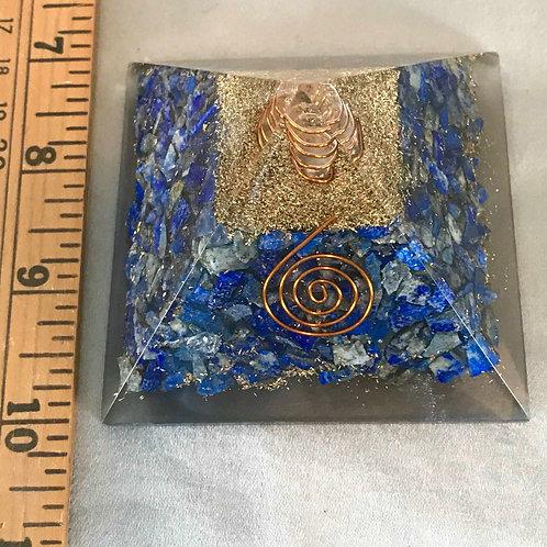 Lapis Lazuli: Orgone Pyramid