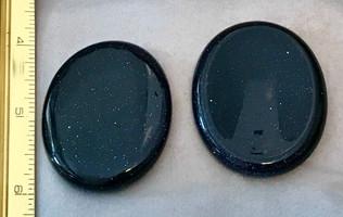 Blue Goldstone-fidget stone.JPG