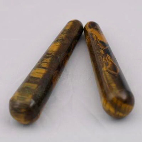 Tiger Eye Jasper: Rounded Wand