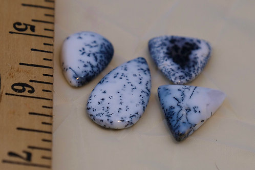 Agate-Dendritic: Cabachons