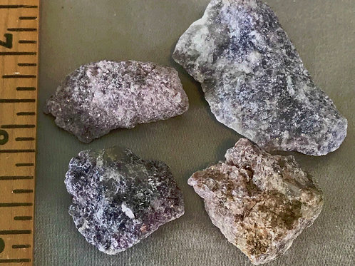 Lepidolite: Natural pieces