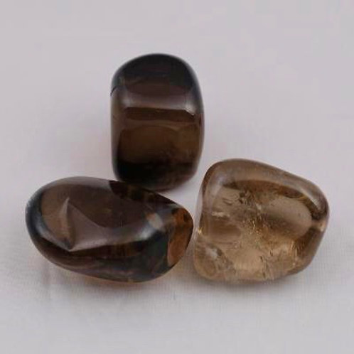 Smoky Quartz: Tumbled
