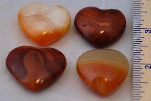 Carnelian: Hearts