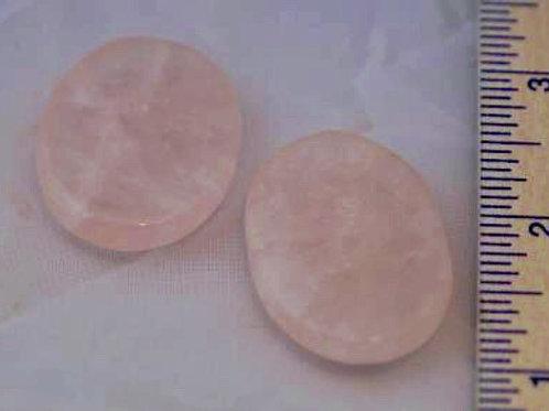 Rose Quartz: Fidget Stones (small)