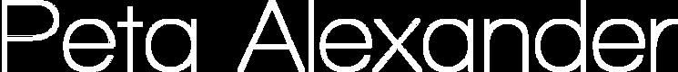 Peta Alexander Logo Transparent-White.pn