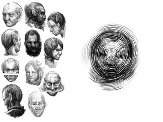 faces sketch 2019