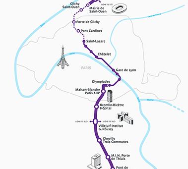 Immobilier du Grand Paris : Etape 2 ligne 14 Sud, de Paris 13è à Orly