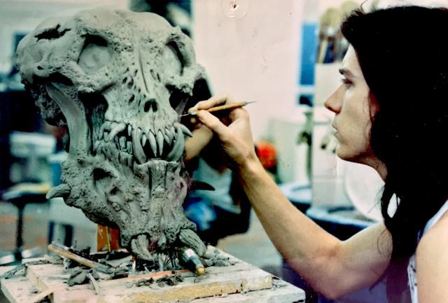 Predator 2 sculpt