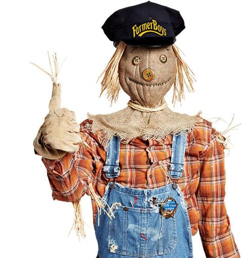 Farmer-boys scarecrow