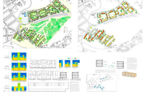 Proposta àrea de creixement urbà - Vilanova del Vallès   Premi a la millor proposta d'ordenació urbanística i d'integració paisatgística