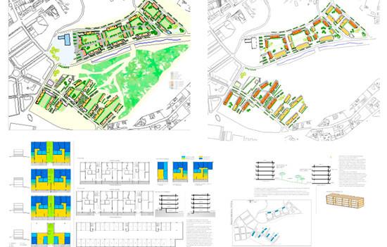 Urbanisme / Proposta àrea de creixement urbà - Vilanova del Vallès   (Premi a la millor proposta d'ordenació urbanística i d'integració paisatgística)