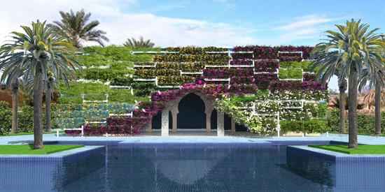 U-Green Design Facade - Royal Palace - Tanger