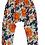 Thumbnail: Blue Floral Harem Pants - R
