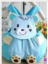 Blue Teddy Bear Short Rumper - R
