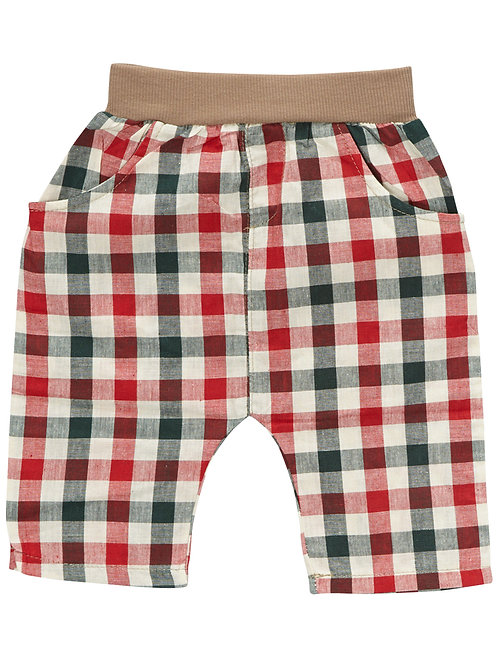 Green and Red checkers pants -  R