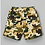 Thumbnail: Green Brown Camo Short with Back pockets -R