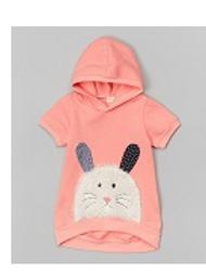 Pink Bunny Hoodie -R