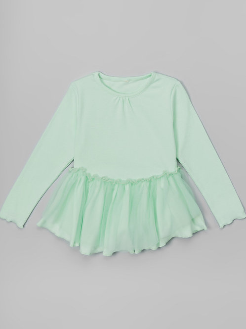 Mint Overlay Dress -R