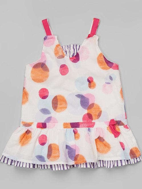Pink & Purple Circle Dress -R