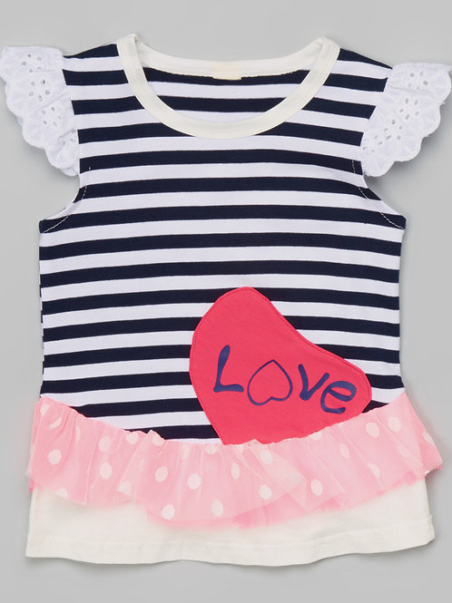 Black Stripe 'Love' -R